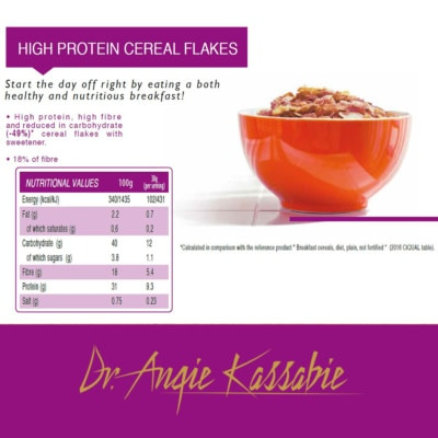 High Protein Cereals Flakes