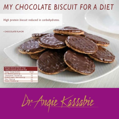 High Protein Chocolate Biscuits