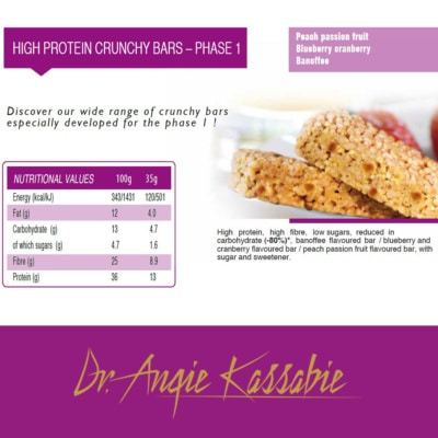High Protein Crisp Bar 35g - Phase 1